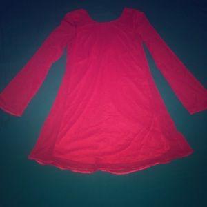 Justfab hot pink dress